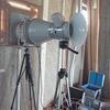倉敷市上東の家 気密測定の実施
