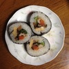 巻き寿司を巻く