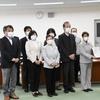 9日、原発汚染水の海洋放出反対で福島復興局と県に緊急申し入れ。地元紙は政府方針固めると号外発行。