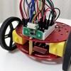 タミヤのカムプログラムロボットは作るのが大変なので、秋月電子で売っているミニスマートロボットモバイルプラットフォームを試した