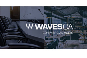 WAVES、設備音響向けのWAVES Commercial Audio製品が登場