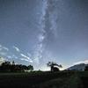 【天体撮影記 第35夜】 長野県 野辺山のやまなしの木と星空