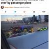 地上勤務職員が離陸直前の旅客機に轢かれる!!怪我の程度・事故原因は不明!!