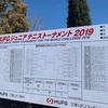 MUFGテニストーナメント2019 3日目