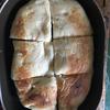 コストコのチーズでチーズたっぷりピザをつくります。ピザ用ミックスチーズ&クリームチーズのWチーズピザ。