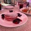 ロイヤルハワイアンホテルのピンクパレスでピンクのパンケーキを食べました😋