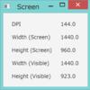 JavaFXで画面解像度を調べてみる
