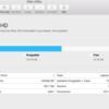 macでファイルを削除してもディスクユーティリティにPurgeableと表示されてディスクの使用量が減らないときの対処法
