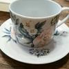 ポーセラーツでコーヒーカップのデザインをしました