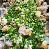 鶏肉と白菜、しいたけの煮込み
