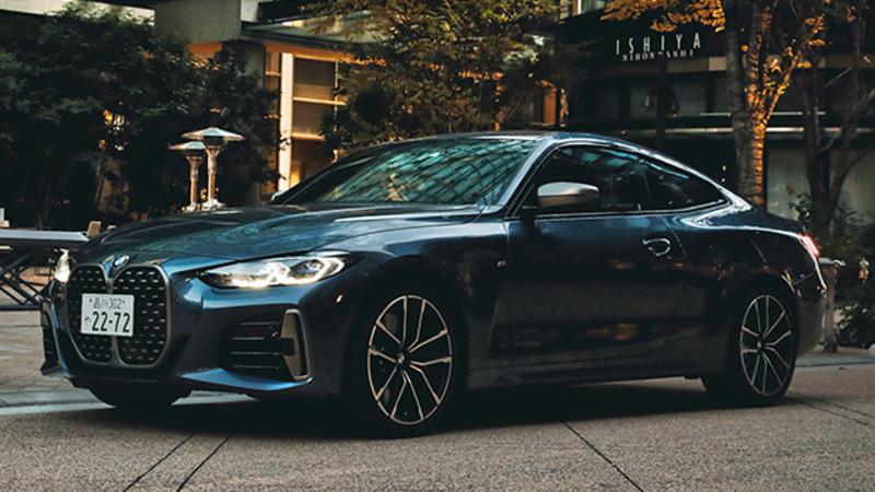 「クーペっていいな」と思わせるデザイン BMWの新しい4シリーズ