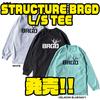 【バスブリゲード】ストラクチャーロゴプリントしたアパレル「STRUCTURE BRGD L/S TEE」発売!