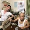 福島でパパの誕生日パーティー