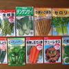 【家庭菜園】9種類の野菜の種を畑に蒔きました