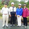 6月18日 台風の影響で、雨。霧雨のような雨の中、梅雨時期のゴルフを楽しむ。