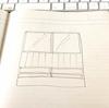 倉庫DIYシャッター部分の壁面作成とFIX窓取り付け ③「窓枠作成」