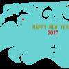 2017酉年 年賀状のイラスト