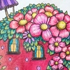 Johanna Basford の塗り絵のpdfが無料配布! / 早速印刷して塗ってみた