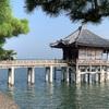 滋賀にて《浮御堂観光・本家鶴㐂そば》