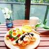 【週末朝ごはん】クリーミーパンプキンスープ&ワッフル 20180715