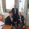 野田一夫先生との昼食会ーー「健康。仕事。家族。友達」。