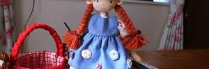 【年金暮らしの手芸生活】赤毛のアンのお人形が増えました。