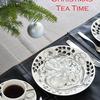 IKEAの生モミの木クリスマスツリーとブラック・パラティッシスタイリング写真♪イヴまで残り2週間ですネ!!
