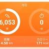 【ダイエット】10月11日の歩数と体重【病み上がりなので許して!】