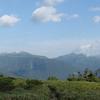 薬師岳登山・太郎平小屋からの眺め 2016年8月6日
