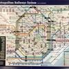 駅の路線図も案内パンフレットの外国語の対応がすごい。