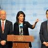 安保理、対北朝鮮で緊急会合 米大使「全選択肢を検討」