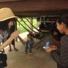 【カンボジア女子一人旅】村の人との交流