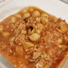 ホットクックで、ひよこ豆のトマト煮込み♡  パスタやドリアなどアレンジ自在。