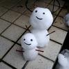 2月15日(木)雪だるま君