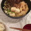 久しぶりに奥様とお家ディナー「関西風すき焼き」