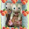 旦那さん実家から桃のコンポートの贈り物♪