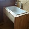 【建物】洗面台・お風呂も後わずかで完成。