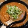 金沢市金石北にあるめん房なかもとで、牛すじカレーうどんとメガツ丼。