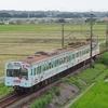 三岐鉄道、赤電を撮る。