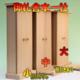 神宮大麻に最適な箱型の神棚 御札と神具を組み合わせてもOK