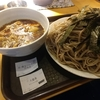 神田【つけ蕎麦 わびすけ】(冷)鶏玉つけそば(たぬき) ¥680