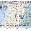 2017年08月29日 08時20分 岩手県内陸南部でM3.1の地震
