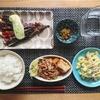 【晩御飯献立】焼きナスのモッツアレラチーズがけと豚バラと絹揚げの煮物【レシピ】