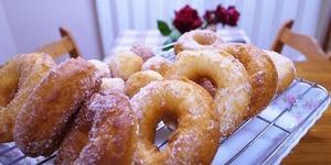 【ホットケーキ・ミックス】型抜きドーナッツが最高のおいしさ!