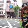 くまモンリカちゃん@熊本市内2015