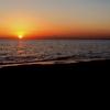 千葉市・いなげの浜から日没の写真を撮りました(^o^)