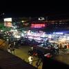 【カンボジア女子一人旅】2階席から夜の街を楽しむ♪♪