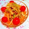 胡瓜と葱のおつまみナムル
