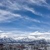 【長野県大町市】2月、雪景色がとても綺麗だよ。