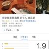 口コミが☆1だらけのすごい店!『完全個室居酒屋 あうん 逸品宴』